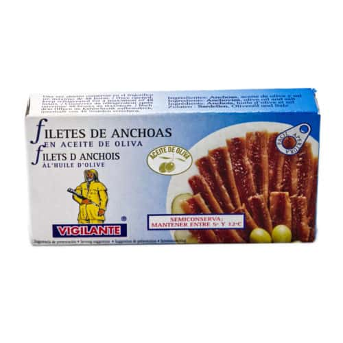 anchovies sardellenfilets front