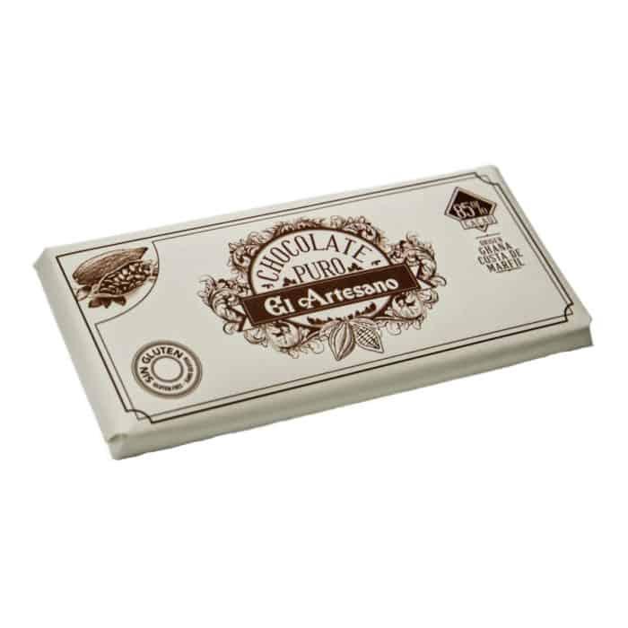 chocolate puro el artesano front