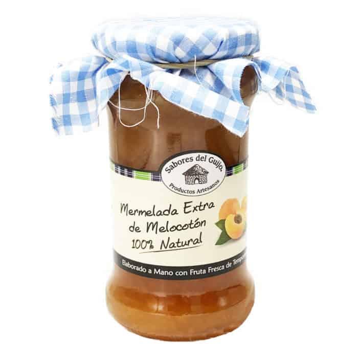 mermelada extra de melocotón 100 natural pfirsichmarmelade front
