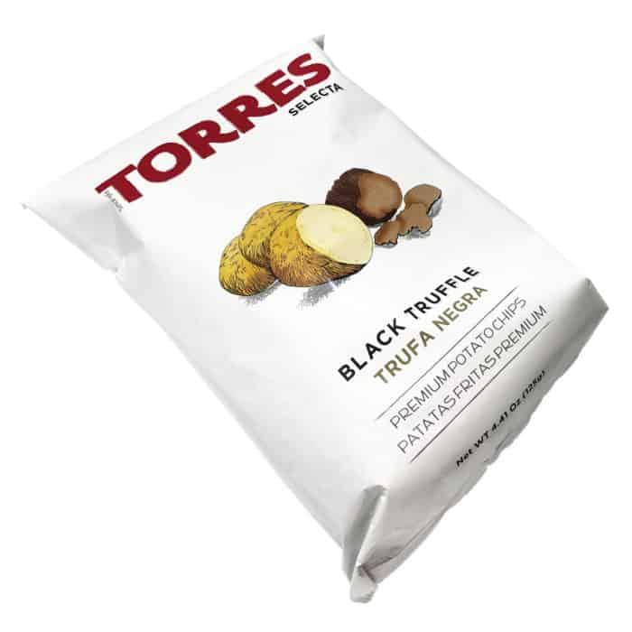 patatas fritas premium torres selecta trufa negra chips mit schwarzem trueffel front