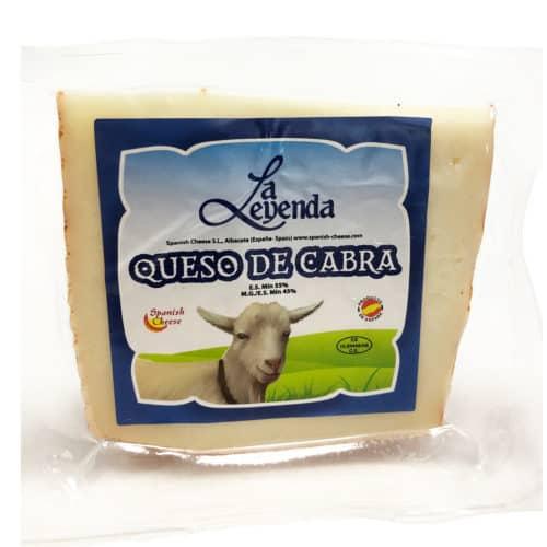 queso de cabra ziegenkaese front