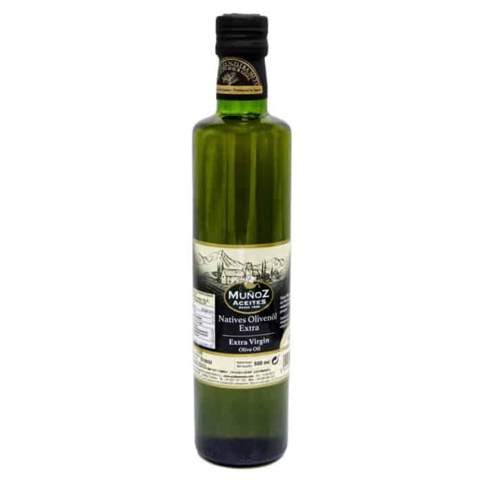 aceite de oliva virgen extra muñoz aceites natives olivenoel extra 05l front