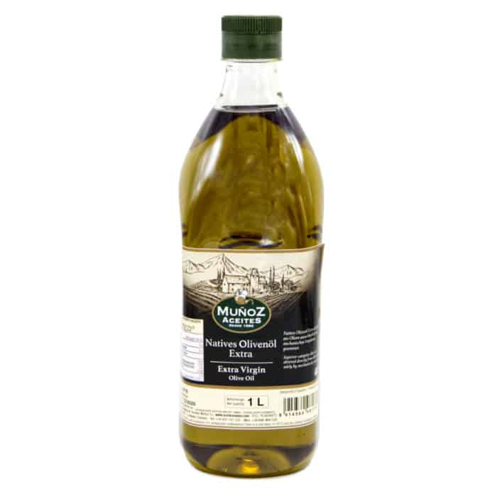 aceite de oliva virgen extra muñoz aceites natives olivenoel extra 1l front