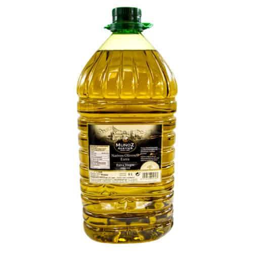 aceite de oliva virgen extra muñoz aceites natives olivenoel extra 5l front