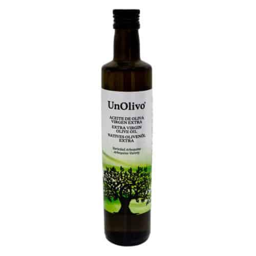aceite de oliva virgen extra unolivo natives olivenoel extra 05l front