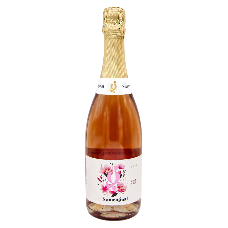 cava samengual brut rosé 075l front