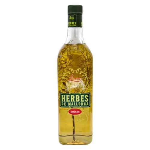 herbes de mallorca dolces 1l–kraeuterlikoer suess front