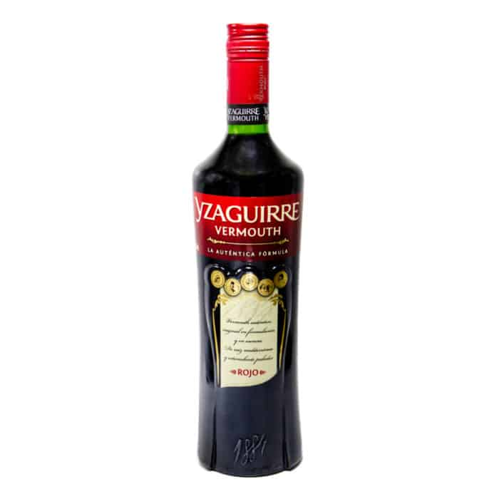 yzaguirre vermouth rojo 1l front