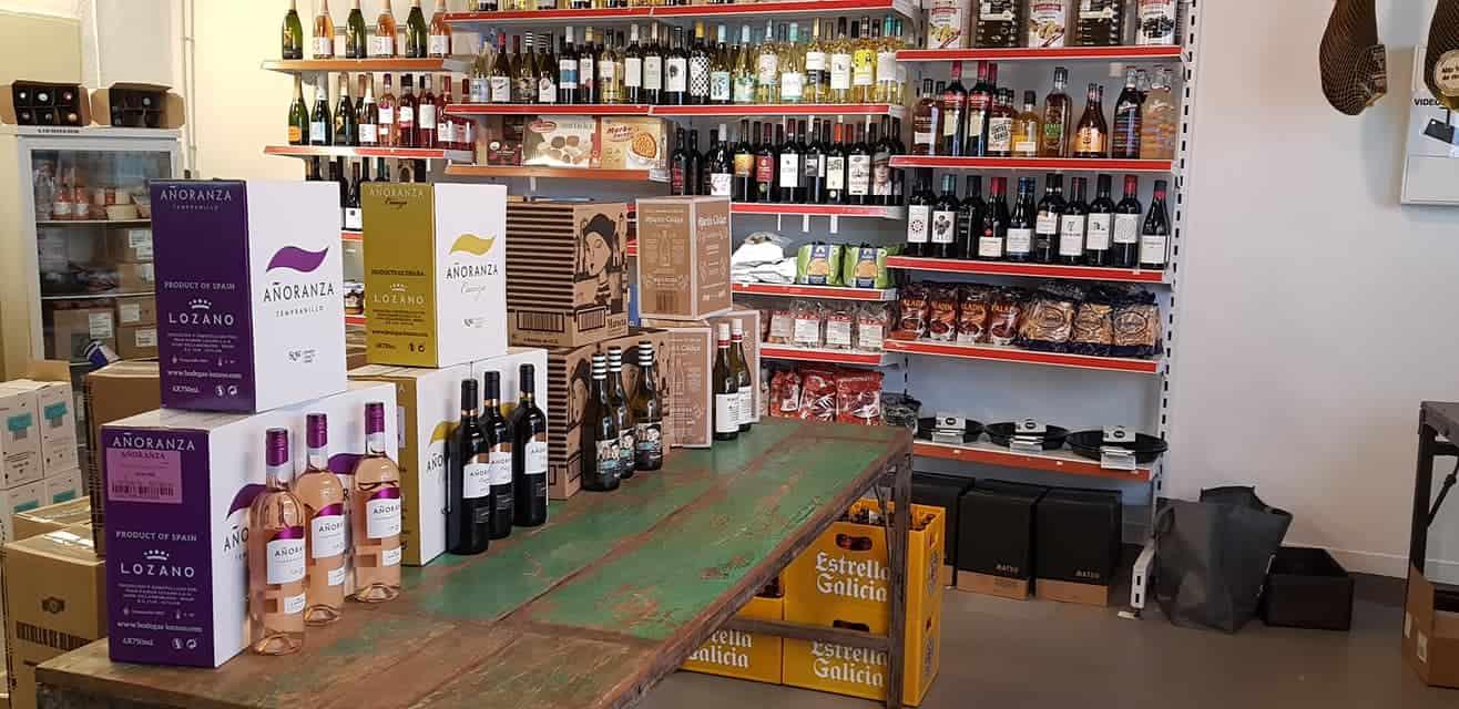 Suchen Sie Jamon Iberico Wilkommen in dein Supermarkt in Koeln o