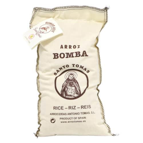 arroz bomba santo tomas bomba reis im sack 1kg front