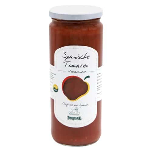 integrasol spanische tomaten zerkleinert 470g front