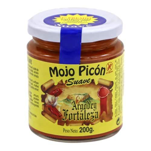mojo picón suave argodey fortaleza mojo sauce mild 200g front