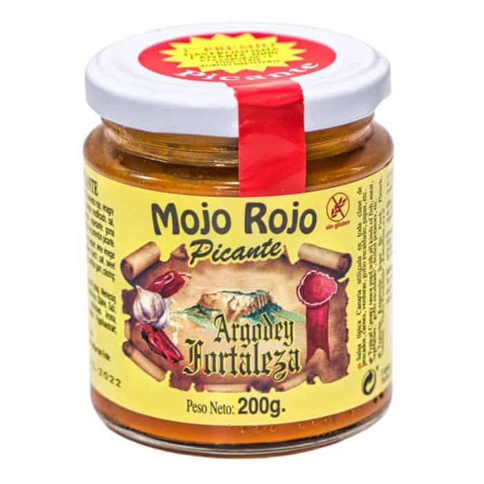 mojo rojo picante argodey fortaleza rote mojo sauce scharf 200g front