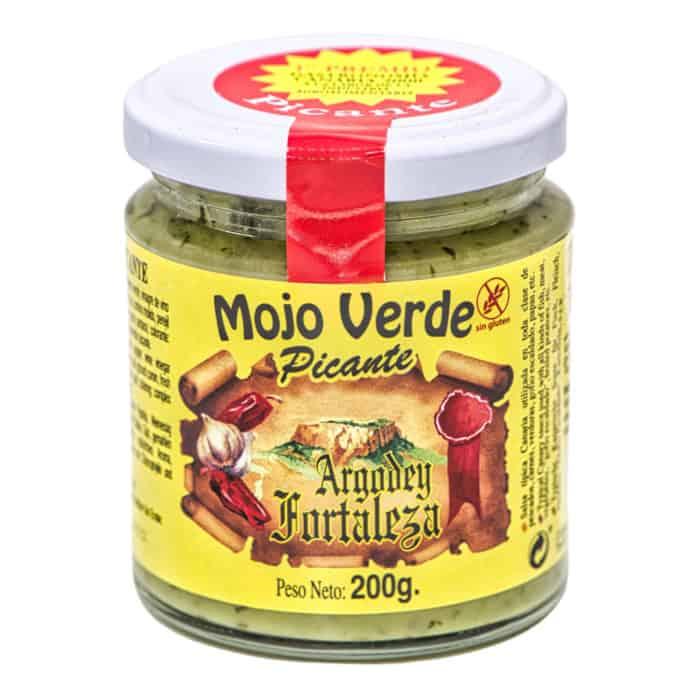 mojo verde picante argodey fortaleza gruene mojo sauce scharf 200g front
