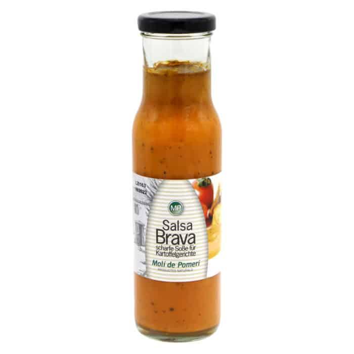 salsa brava moli de pomeri scharfe sosse fuer kartoffelgerichte 240g