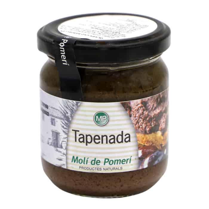 salsa tapenada moli pomeri olivenaufstrich mit sardellen und kapern 185g front