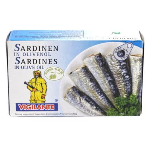 sardinas en aceite de oliva 88g Sardinen in olivenoel