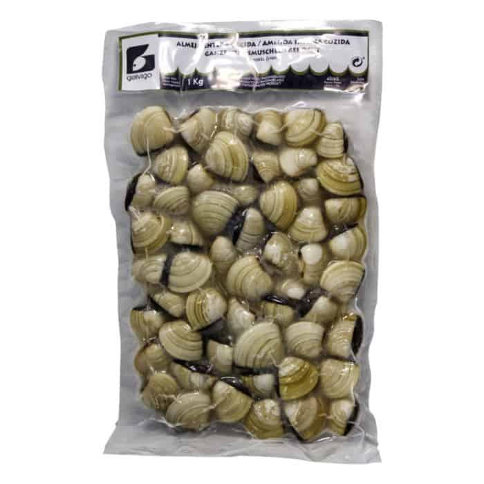 almeja del pacifico entera cocida ganze venusmuscheln gekocht 1kg