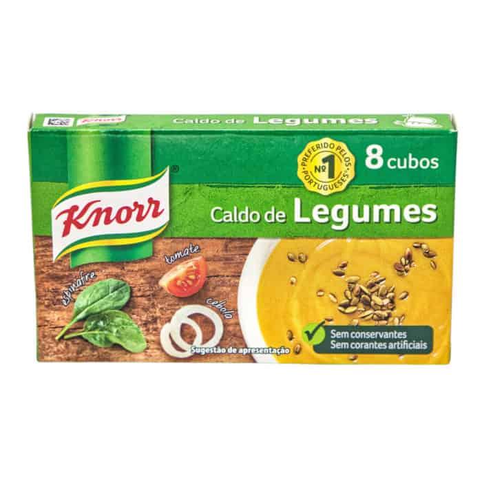caldo de legumes 8 cubos knorr gemuesebruehe 8 wuerfel 80g front