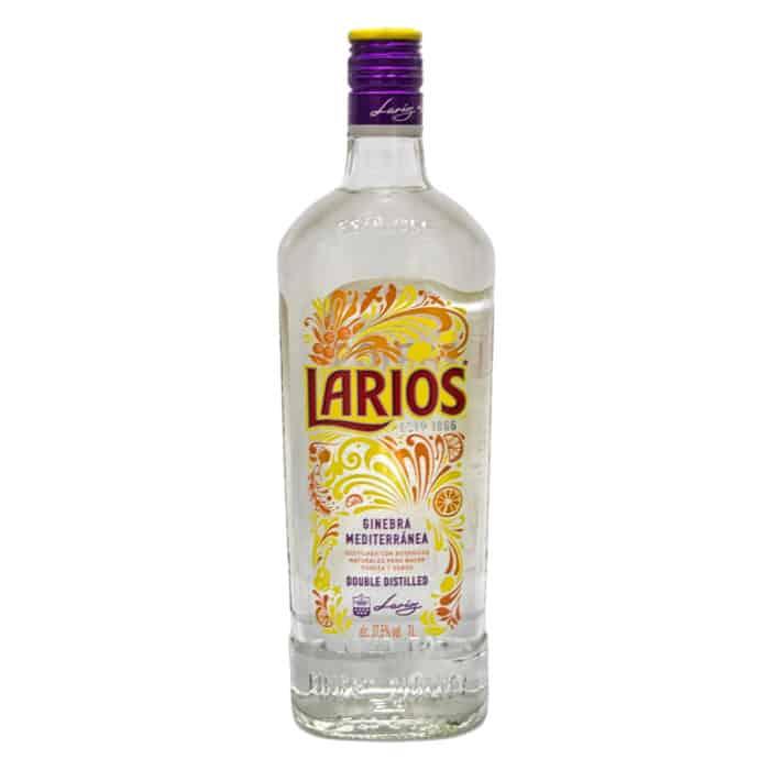 larios ginebra mediterránea larios london dry gin 1l front