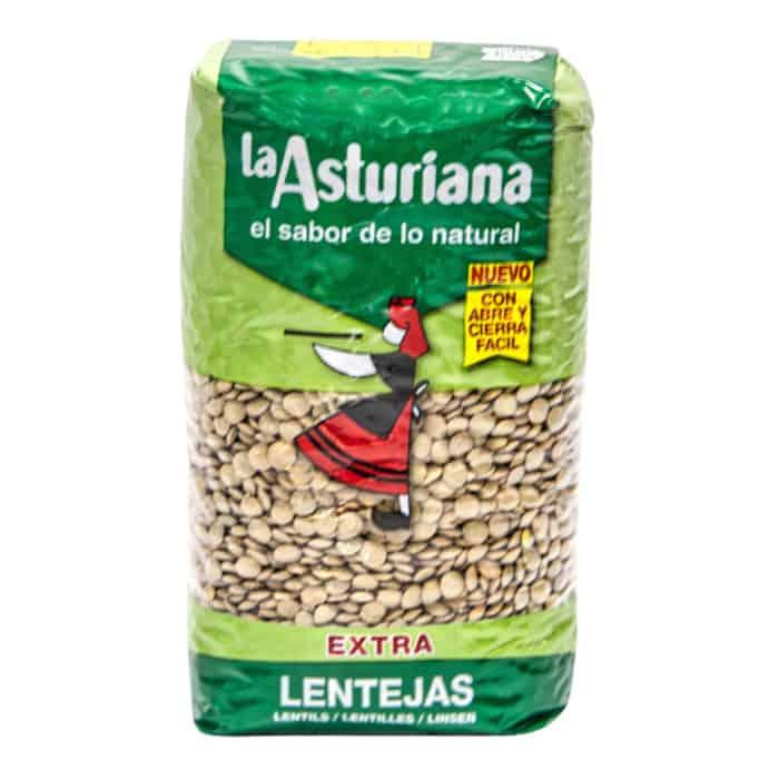 lentejas la asturiana linsen 1kg front