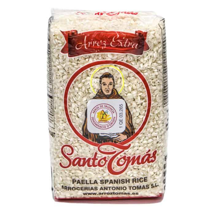 paella spanish rice arroz extra santo tomás spanischer paella reis 1kg front