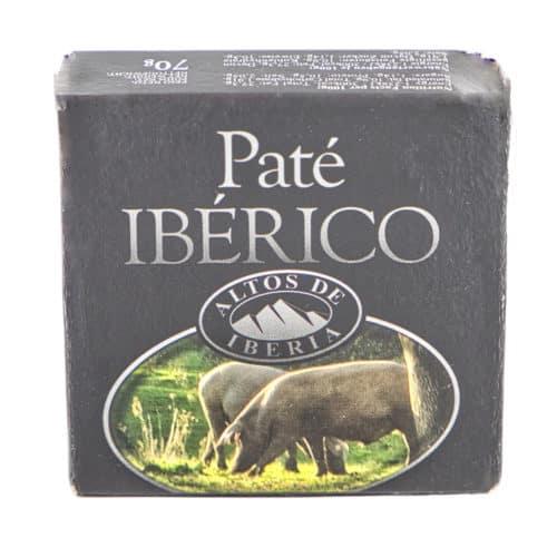 paté ibérico altos de iberia iberische pastete 70g front