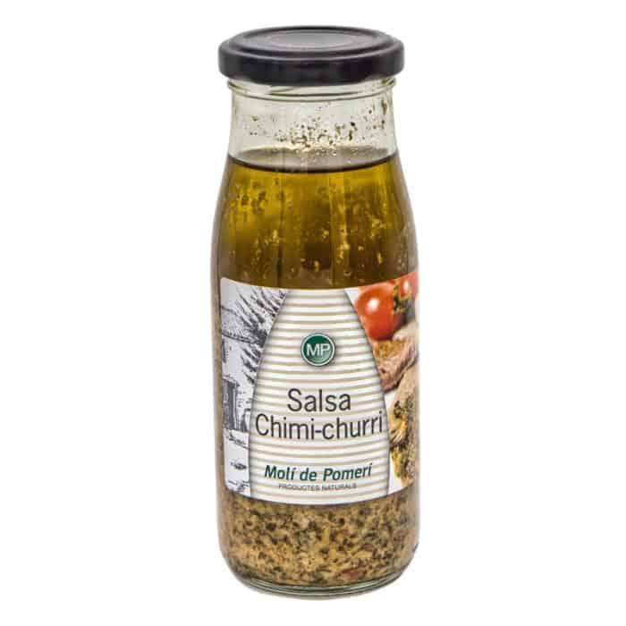 salsa chimi churri moli de pomeri grillsauce chimichurri 240g front