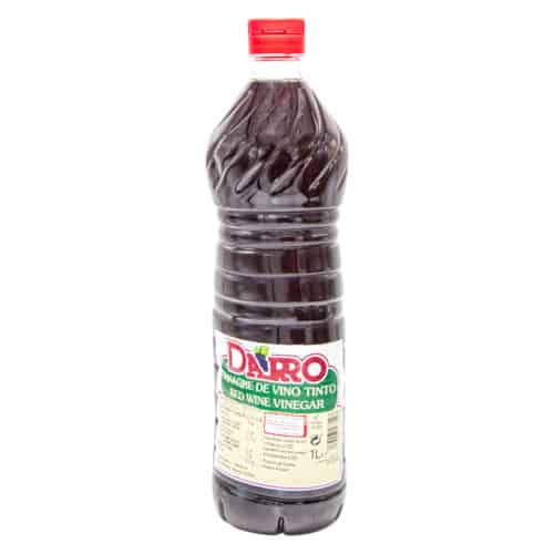 vinagre de vino tinto darro rotweinessig 1l front
