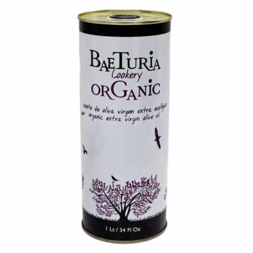 aceite de oliva virgen extra ecológico baeturia organic natives bio olivenoel extra 1l front