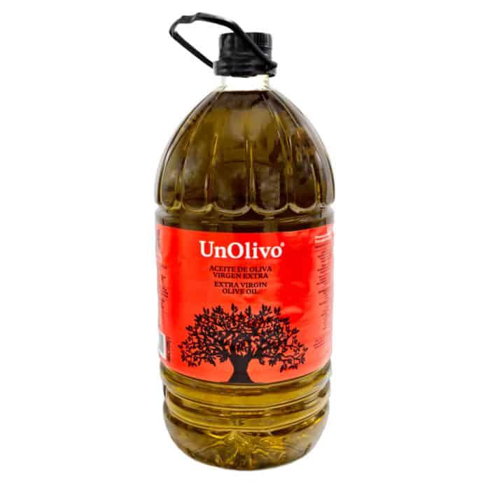 aceite de oliva virgen extra unolivo natives olivenoel extra 5l front