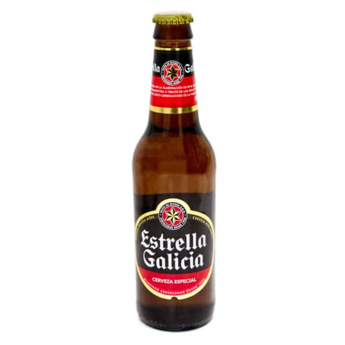 cerveza especial estrella galicia especial spanisches bier 033l front