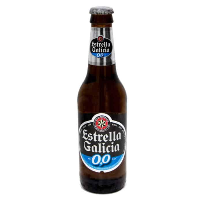 cerveza sin alcohol estrella galicia spanisches bier alkoholfrei 033l front