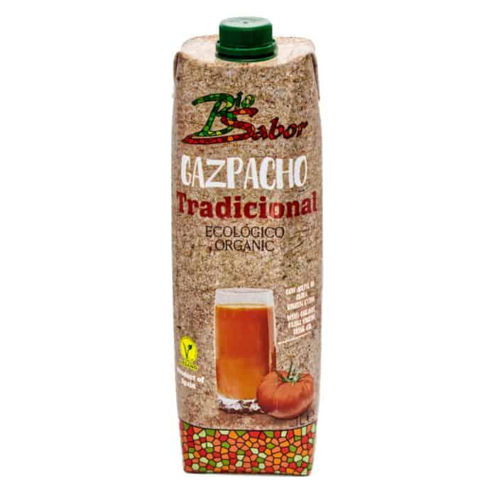 gazpacho tradicional ecológico organic bio sabor kalte gemuesesuppe aus oekologischem landbau 1l front