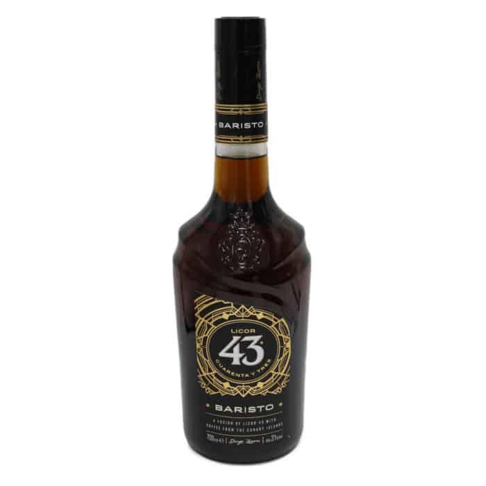licor 43 cuarenta y tres baristo 07l spanischer likoer 43 mit kaffee von den kanarischen inseln front