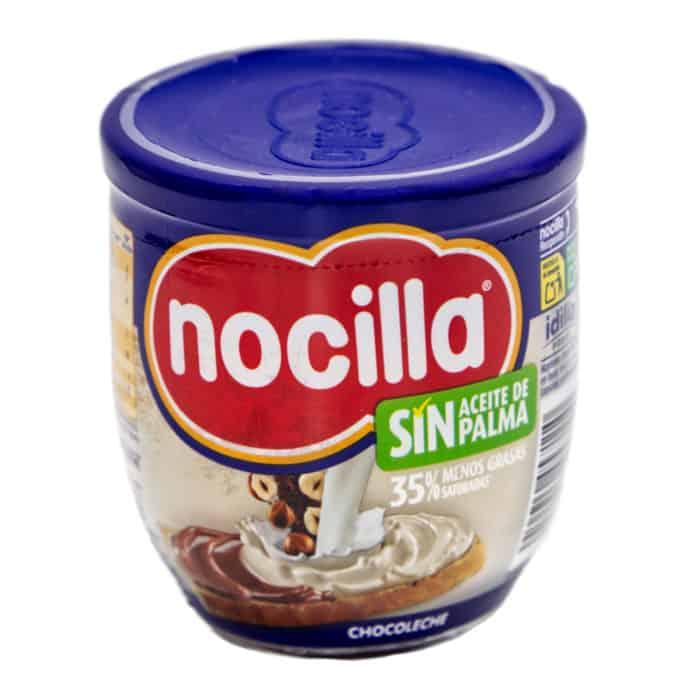nocilla chocoleche sin aceite de palma schokoladencreme mit haselnuss schokomilch 190g front