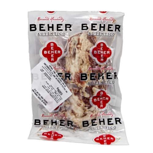 presa de cerdo congelada beher gefrorener schweinenacken front