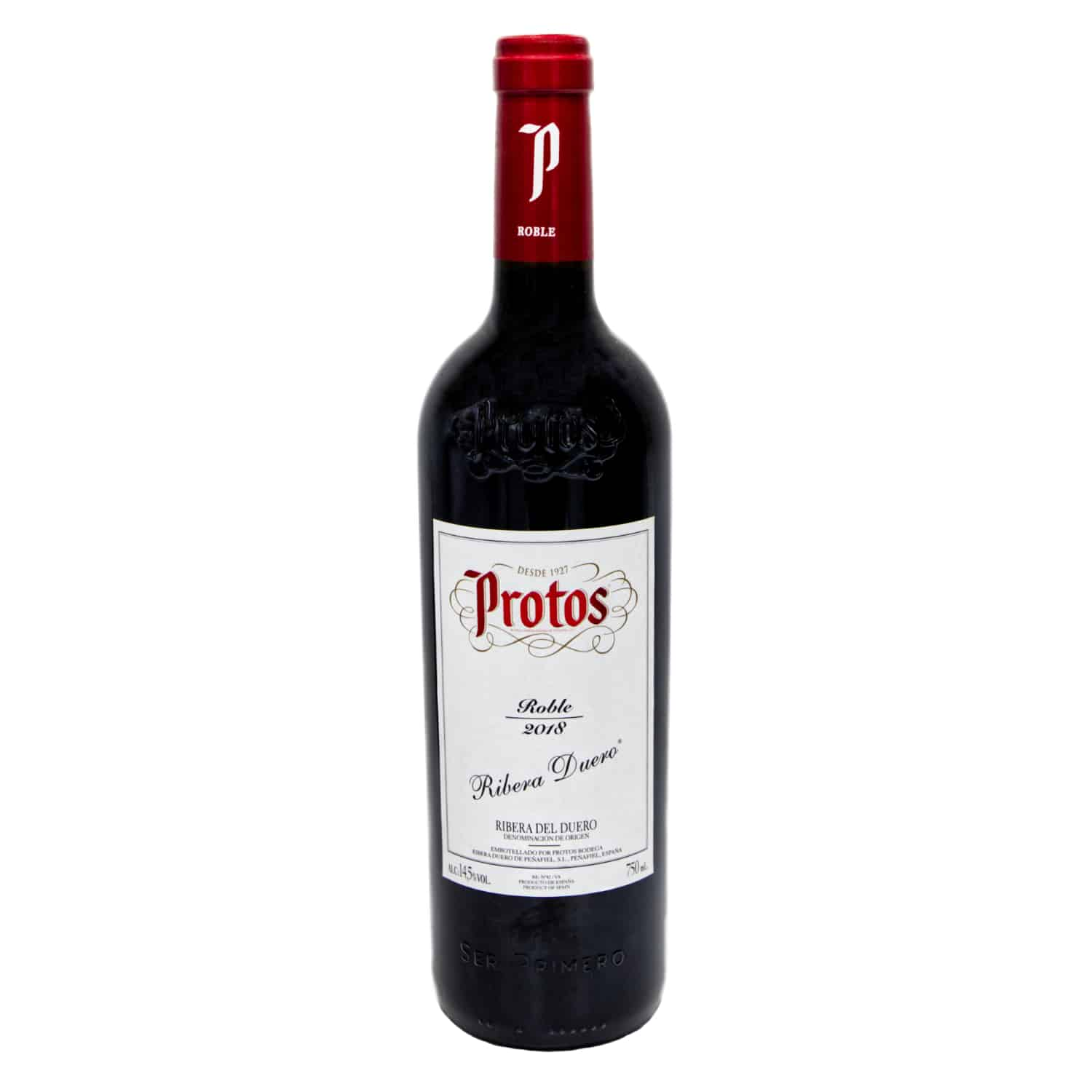 rotwein protos roble 2018 075l front
