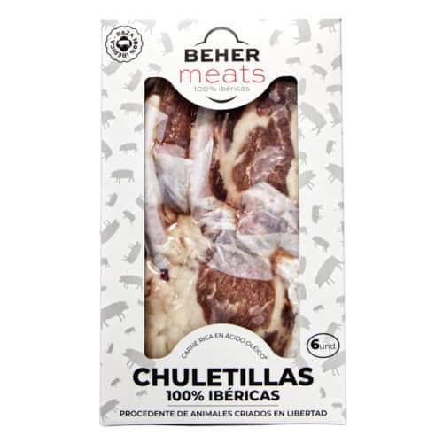 chuletillas 100 iberico congleado beher meats schnitzel 100 iberico tiefgefroren
