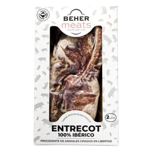 entrecot de cerdo 100 iberico congleado beher meats entrecot 100 iberico tiefgefroren
