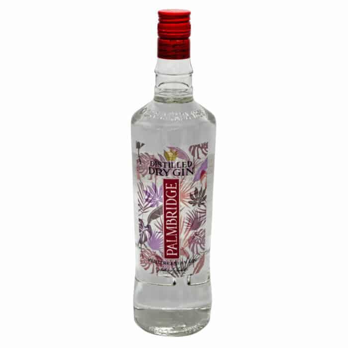palmbridge dry gin 1l front
