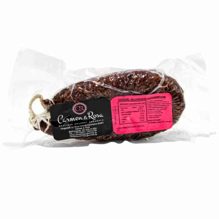 salchichon extra herradura salchichon hartwurst extra im ring front