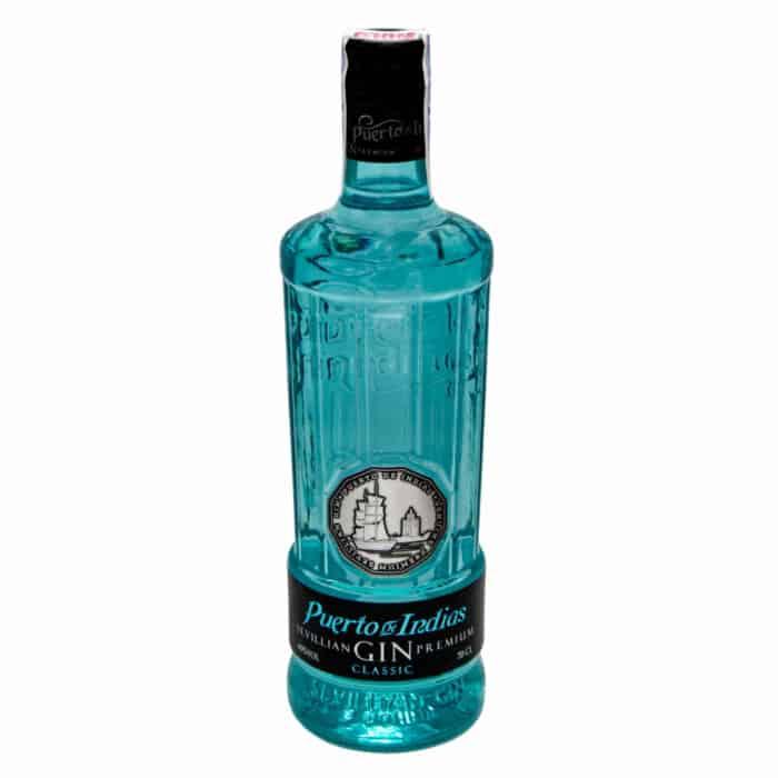 sevillian gin premium puerto de indias classic 07l front